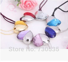 0!Wholesale sweet model pen bulk diamond necklace love usb 2GB-64GB USB 2.0 Flash Memory Stick Drive U Disk Festival Thumb/Car(China)