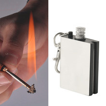 Free Shipping Emergency Fire Starter Flint Match Lighter Metal Outdoor Camping Hiking Instant Survival Tool Safety Durable hot