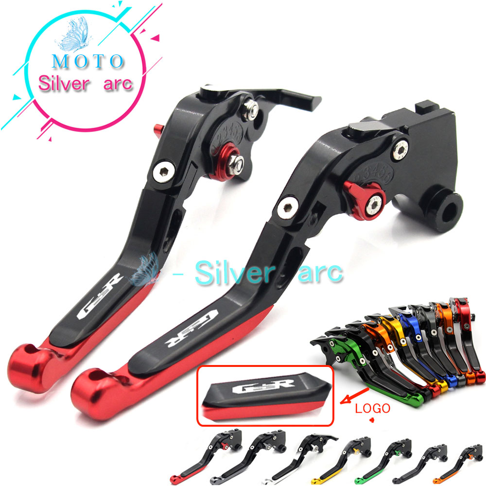 New Adjustable Foldable Extendable Motorbike Brakes Clutch CNC Levers For SUZUKI GSR 750 600 400<br>