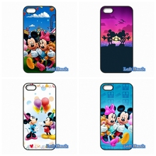 For HTC One M10 For Microsoft Nokia Lumia 540 550 640 950 X2 XL Minnie Mickey Mouse Case Cover