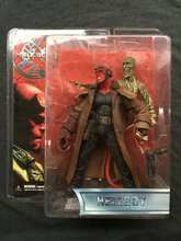 MEZCO Hellboy Movie 1.5 Hellboy with Leather coat and Ghost Collector Action Figure