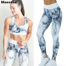 Buy Maoxzon Womens Print Fitness Workout Slim Leggings Trousers Female Fashion Athleisure Jogger Active Elastic Skinny Pants XL for $11.87 in AliExpress store