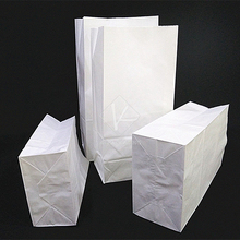 5 pcs 16x32cm Paper Bread Bags / Food Flexible Packaging / Fast Food Packaging Suppliers