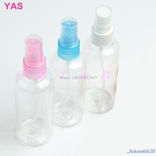 2Pcs 50ML Empty Spray Bottle Travel Plastic Perfume Atomizer -Y207 Drop Shipping