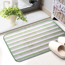 1Pcs Cheap 40X60CM Bathroom Carpet Set ,Striped Bath Mat For Bathroom And Toilet, Rug In The Toilet Easy To Clean  alfombras