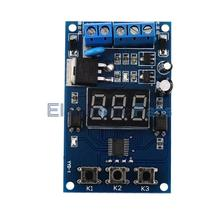 New Bule Trigger Cycle Timer Delay Switch Fet Circuit Control Board MOS FET Driver Module, Free Shipping!
