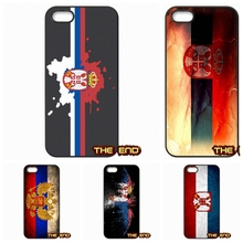 Republic of Serbia Realistic Flag Hard Phone Case Cover For iPhone 4 4S 5 5C SE 6 6S 7 Plus Galaxy J5 A5 A3 S5 S7 S6 Edge