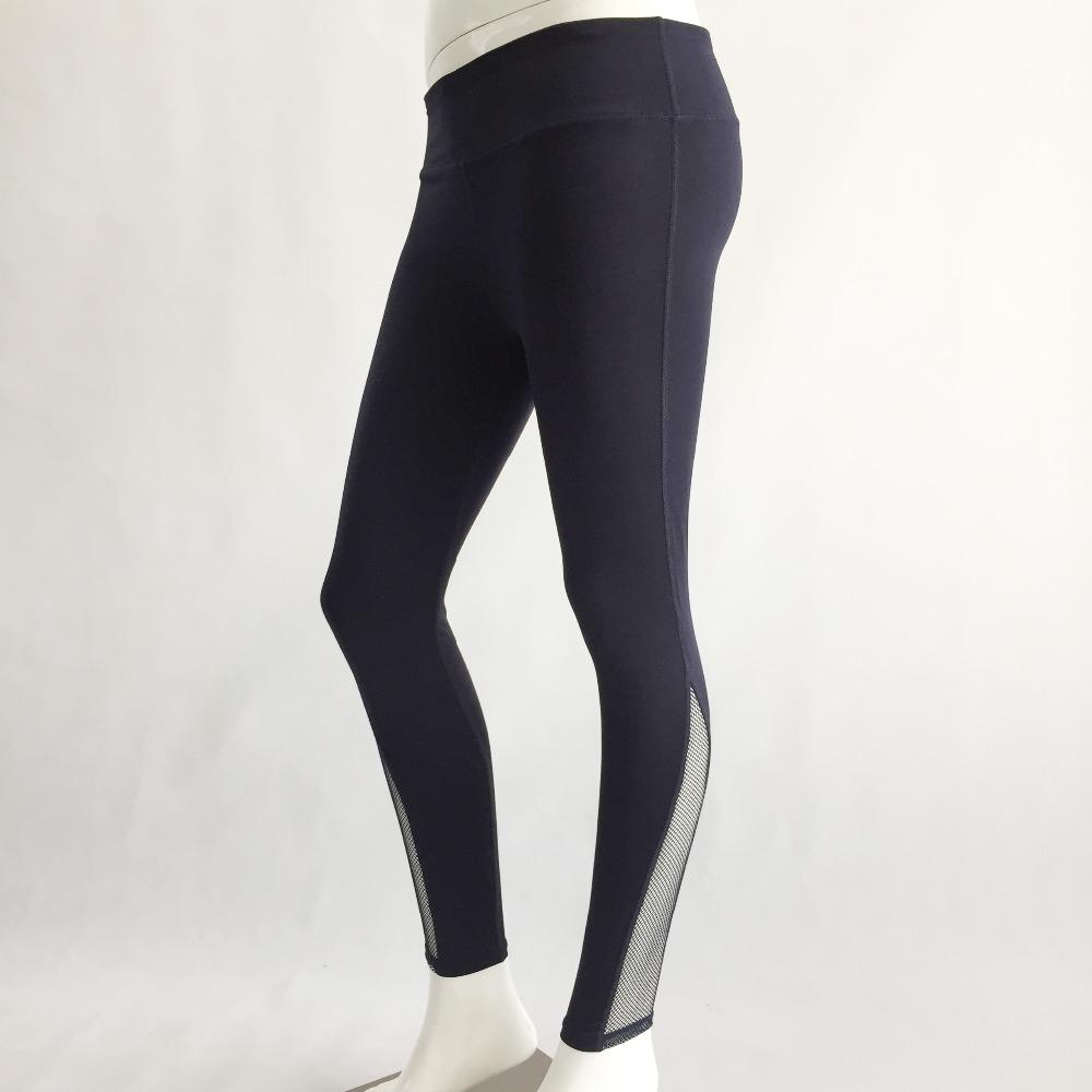New Women Push-up Sporting Leggings Black Fashion Net Hollow Elastic Skinny Fitness Leggings Sporting Clothing For Women 23
