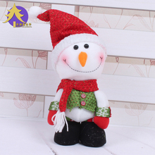 1Pcs New Christmas Tree Ornaments Christmas Gifts For Children Christmas Ornament Snowman Decration For Home Hotel