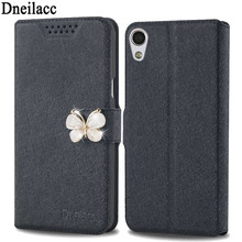 Case For Sony E5 Cell Phone Cover With Fashion Rhinestone Luxury Flower Diamond Phone Bags Cases For Sony E5(China)