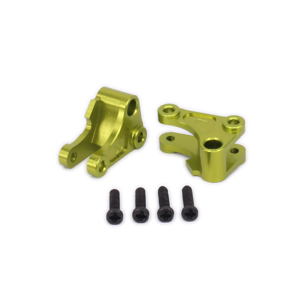 2PCS Aluminum Front Shock Rocker Arm Tie Rod Mount Damper Rc Model Car 1-12 Wltoys 12428 12423 Shock Absorber 0043Upgraded