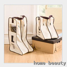 New Dustproof Boots Shoes Storage Pouch Brand Travel Storage Bag For Boots Tidy Organizer Suitcase Home Closet container FH217