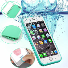 For iPhone 7 Case Slim Luxury Shockproof Hybrid Waterproof Soft Silicone Phone Bag Outdoor Cases Cover for iPhone 6 6S Plus 5 5S
