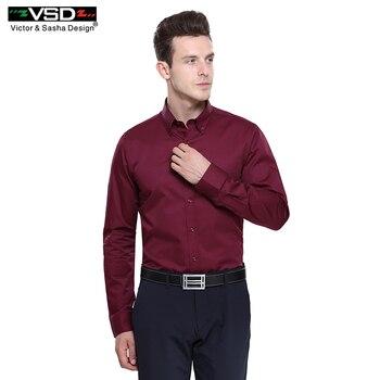 Top Vente Italien Hommes de Chemises De Mode 7 Camicie Style Long douille Plus La Prime de Coton Hommes Slim Équipée Pour Chemises Euro Taille Homme