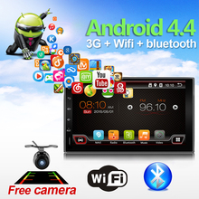Quad Core 7 INCH 2 Din Android 6.0 Car Audio Non DVD Stereo Radio GPS TV 3G WiFi GPS Navigation Head Unit For Universal