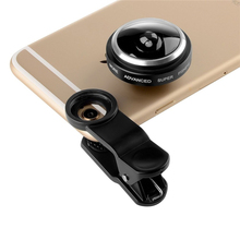 General Clip 235 Degrees Super Fisheye Camera Fish Eye Lens For iphone 4 4s 5 5s 5c SE 6 6s 7 Plus Mobile Phone Lenses