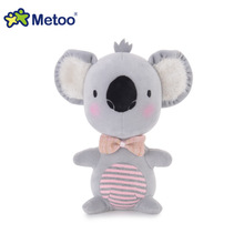 Metoo bunny rabbit koala cow and chicken small pudding plush toys creative doll baby dolls best for you(China)