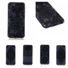Fashion Skid Clear soft TPU Case For Apple ipod Touch 5 Touch 6 Back Protect Skin Rubber Phone Cover Silicone Gel Case(China)