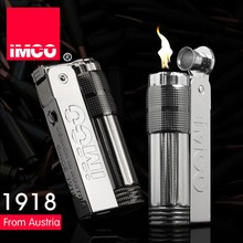 Genuine IMCO 6700 oil lighter,Stainless steel black logo,Gasoline kerosene petrol lighters,Cigarette lighters(China)