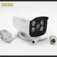 HKES Aluminum Metal Waterproof Outdoor Bullet IP Camera 720P 960P 1080P 2.8mm lens Security Camera CCTV   Board ONVIF Camera