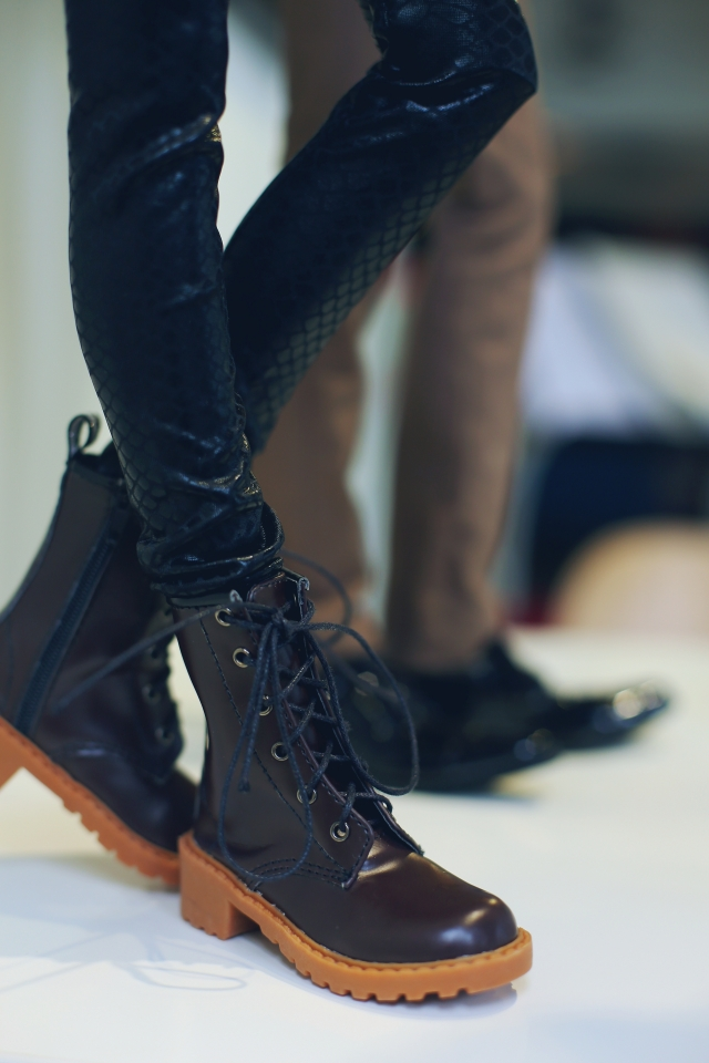 Exclusive Handsome Martin Boots for BJD 1/3 SD10 SD13 SD17,Uncle,SSDF ID IP EID Big Foot Doll Shoes SM9<br>