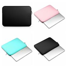 2017 New Soft Laptop Sleeve Bags 11 12 13 14 15 inch Laptop Bag Case For Macbook 13 Air Pro Retina For Xiaomi Air Lenovo Asus(China)