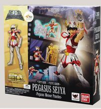 BANDAI D.D.PANORAMATION DDP Pegasus Saint Seiya pvc action figure with Scenes and effect 10cm tall