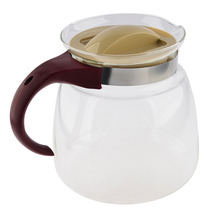 E-SHOW High Quality 1850ML Heat-resistant Glass Teapot Water Kettle can directly heat on Gas & Electric Stoves(China)