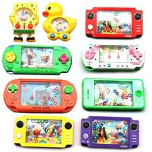 Children's birthday & Festival gift Water rings Water game Handheld Game Players Puzzle game for kids