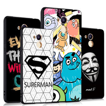 Godgift Huawei honor 6c pro Case Cover Black 3D Relief Case For Huawei honor 6 c pro Silicone Cartoon honor 6cpro huawei case(China)