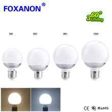 Foxanon LED Lamp E27 5W 7W 9W 10W 12W 15W LED Light Bulb 5730 85-265V Global Bulb Lampada LED Lamps 360 Degree  A60 A70 A80 A90