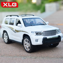 HOT SALE Toyota Land Cruiser 1:24 Original car model SUV Toy Luxury cars Classic cars Collection Birthday gift(China)