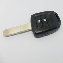 Keyless Entry Remote Key Shell Case Fob 2 Button for Honda USA Uncut Blade Hon66