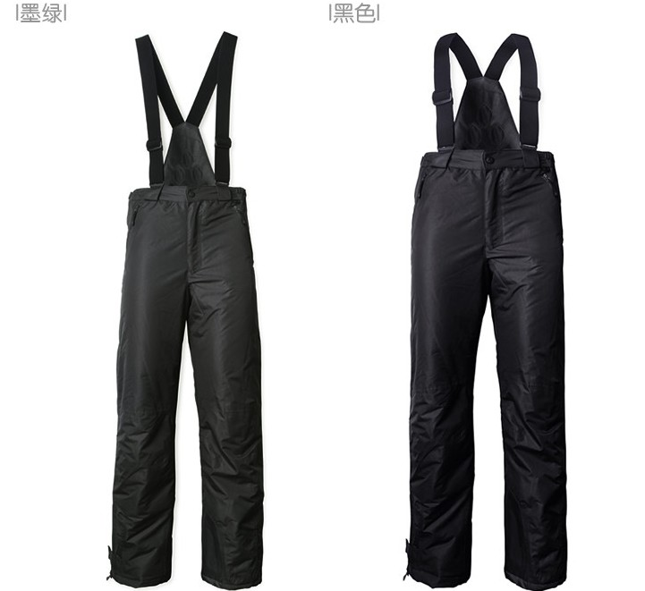 Foreign trade of the original single thick cotton pants for boys and girls warm quality outdoor strap ski pants Trousers<br><br>Aliexpress