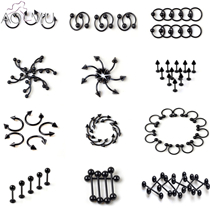 5pcs-Black-Titanium-Stainless-Steel-Stud-Earrings-Tongue-Piercing-Tragus-Cartilage-Earring-Body-Jewelry__
