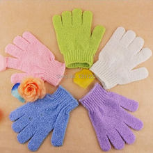 New 1pcs/lot Nylon Scrubbing Gloves Bath Gloves Shower Gloves Cleaning Your Body 03QT