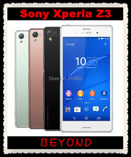 "Sony Xperia Z3 Original Unlocked GSM 3G&4G Android Quad-Core 3GB RAM D6603 5.2"" 20.7MP WIFI GPS 16GB Dropshipping"