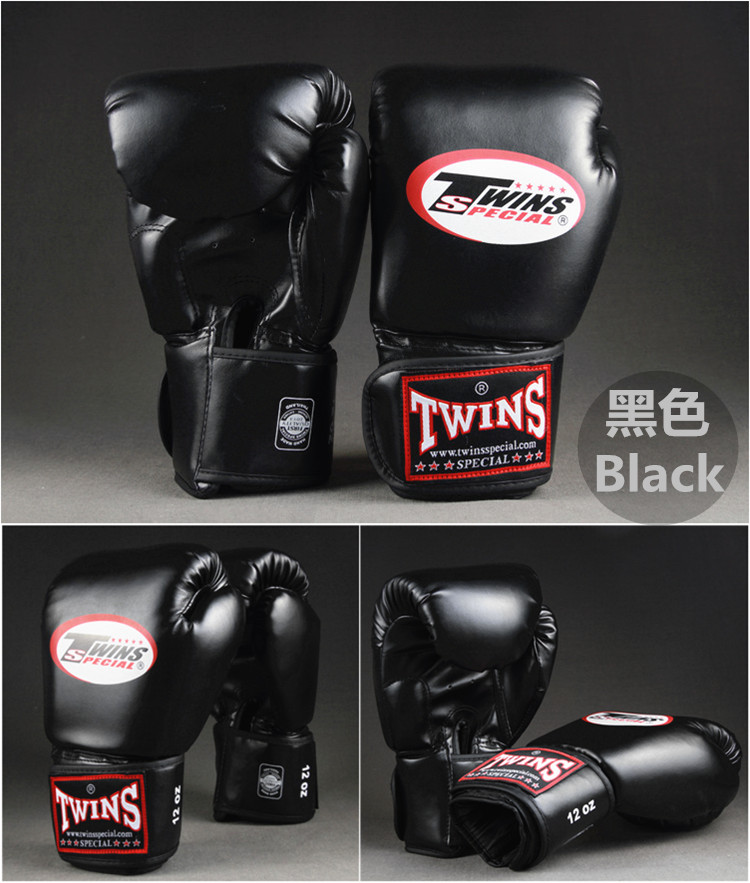8-14 OZ Wholesale Muay Thai Twins Kick Boxing Gloves PU Leather Boxing Gloves For Men Women Training in MMA Grant Boxing Gloves 8