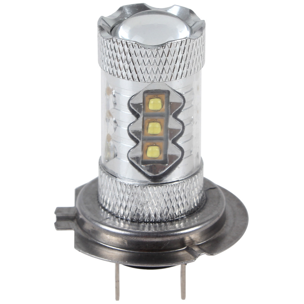 80W H7 Chip High Bright 16 x LED Car Fog lamp with 360 Degrees Beam<br><br>Aliexpress