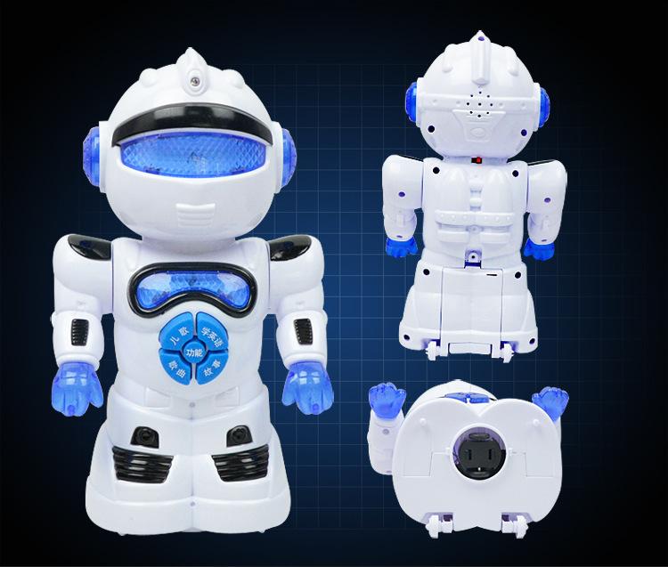 juguetes robot inteligente elctrica universal iluminacin educativo modelo de robot de juguete regalo del muchacho