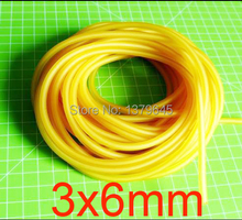 3x6mm 3mm ID 6mm OD latex tubing LaTeX tubes LTE-Ftransfuse tourniquet garrot Automatic Tourniquet Rubber hose