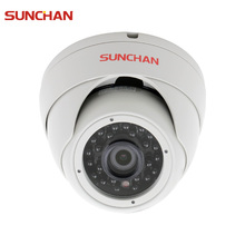 SUNCHAN 1/3'' Color CMOS Sensor AHDH 1080P AHD Camera Indoor Dome Security Camera AHD 1080P Indoor Security Cameras