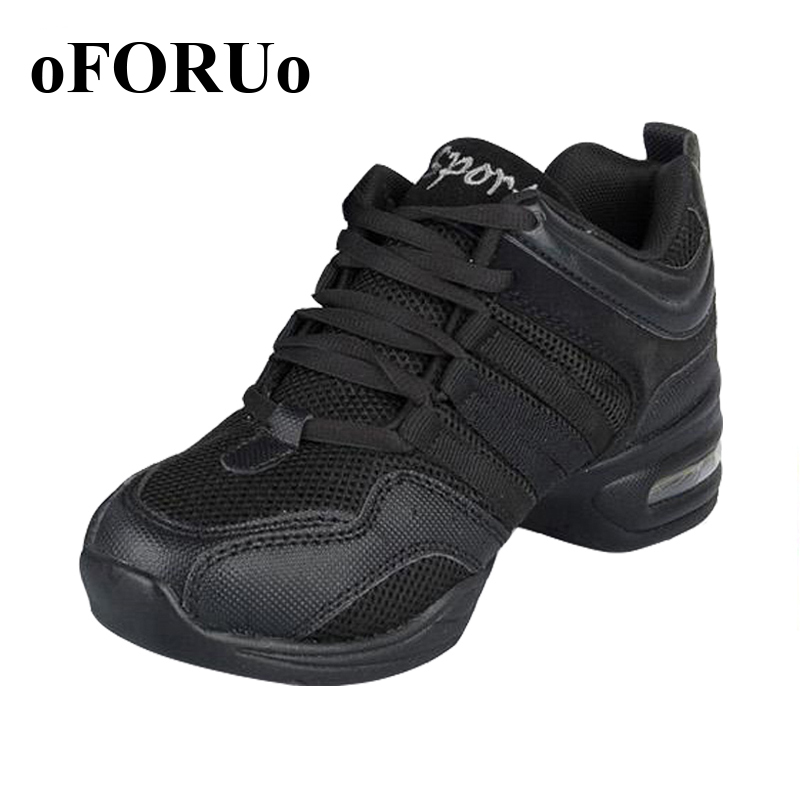 New 2017 Dance Shoes For Girls Sports Soft Outsole Breath women Practice Shoes Modern Jazz Dance Shoes Sneakers Plus size 41 42<br><br>Aliexpress