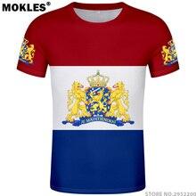 NETHERLANDS t shirt diy free custom logo name photo nld t-shirt nation flag  nl 3a01896e3