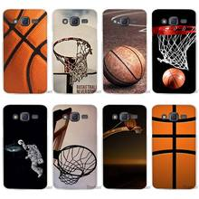 Hot Sale Basketball dark Clear Case Cover Coque Shell for Samsung Galaxy J1 J2 J3 J5 J7 2016 2017 Emerge