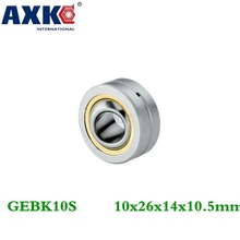Buy Axk Gebk10s Pb-10 Radial Spherical Plain Bearing Self-lubrication 10mm Shaft