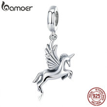 Buy BAMOER Authentic 100% 925 Sterling Silver Trendy Memory Charm Pendant fit Women charm Bracelet DIY Jewelry Making SCC704 for $4.63 in AliExpress store
