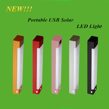 New Product Portable USB Solar LED Light Furniture Accessories SOS Flash Light W/ Beautiful Box(China)
