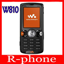 Free Shipping Original Sony Ericsson W810 Mobile Phone 2.0MP Bluetooth Unlocked W810i Cell Phone(China)