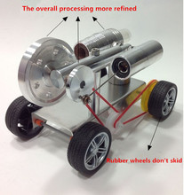 New DIY Stirling Engine Model KIT Advanced Edition Four-wheel Automotive Science Education Toy Free shipping for Christmas gifts(China)